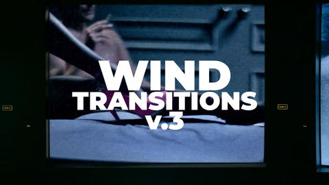 Wind Transitions V 3 Plantillas de Premiere Pro