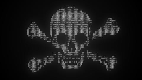 Internet Piracy Digital Pirate Flag Animation Animation