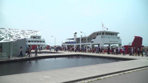 男木島を巡った観光客 ライブ動画