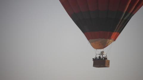 Hot Air Balloon Footage
