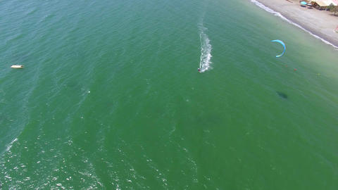 Kite Surf Aerial Footage