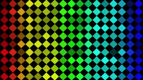 Diamonds Gradation Animation