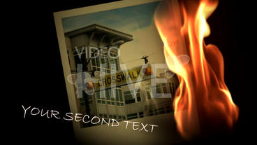 Photo Clicks V2 Fire After Effects Project