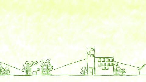 SHA Yellow City BackGround CG動画