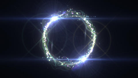SHA Colorful Ring Effects Animation