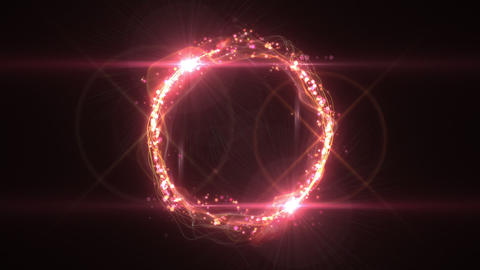 SHA Pink Ring Effects Animation