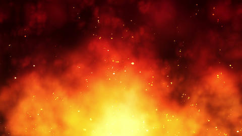 SHA Red Fire Effects CG動画