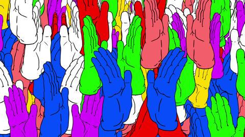 SHA Clap Image BG Animation