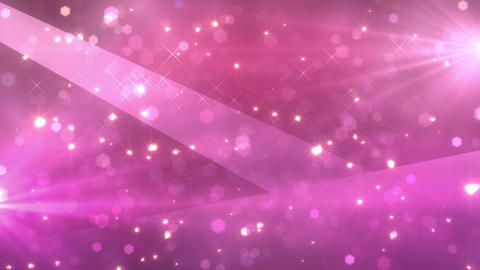 SHA Kirakira Light In Effects Pink CG動画