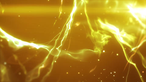 SHA Wave Flow ImageBG Yellow 動画素材, ムービー映像素材