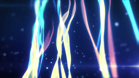 SHA wakame BG Effects Blue CG動画