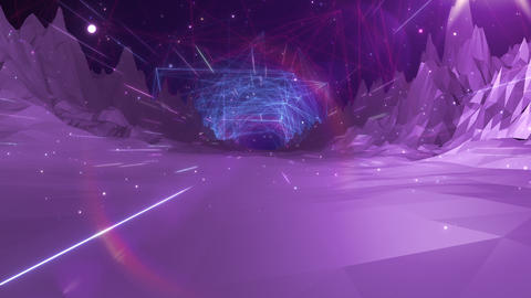 SHA Mountain BG Digital Image Vioret Animation