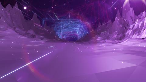 SHA Mountain BG Digital Image Vioret Animation