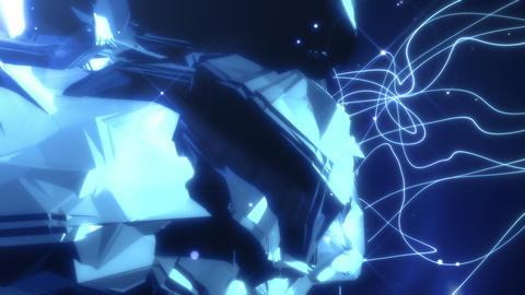 SHA Rotation Rock BG Image Blue Animation