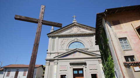 In italy ancient religion building 0033 Footage