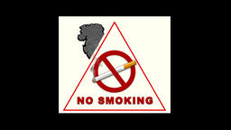 Realistic No Smoking 3 Animation