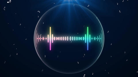 Audio Spectrum 5 After Effects Template