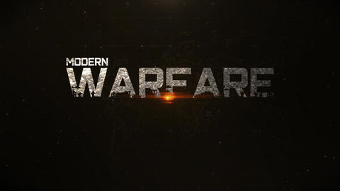 Military Warfare Opener After Effects Template