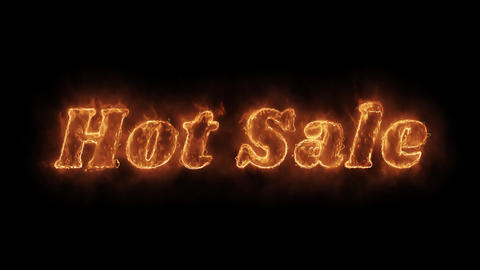 Hot Sale Word Hot Animated Burning Realistic Fire Flame Loop Live Action