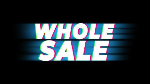 Wholesale Text Vintage Glitch Effect Promotion Live Action