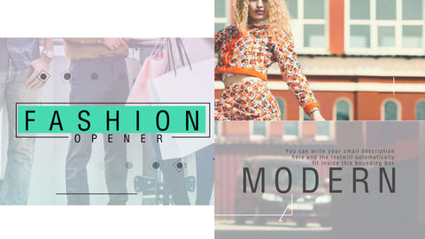 Fashion Project After Effects Template