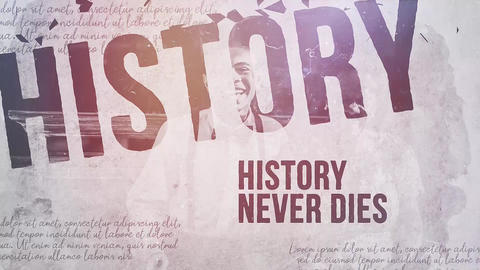 Shattered History Premiere Pro Template