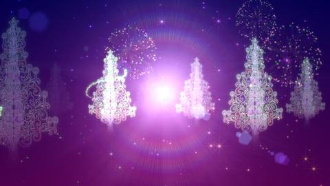 Illuminated tree Animation