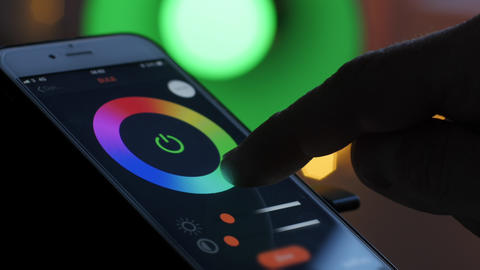 Smart lighting app Live Action
