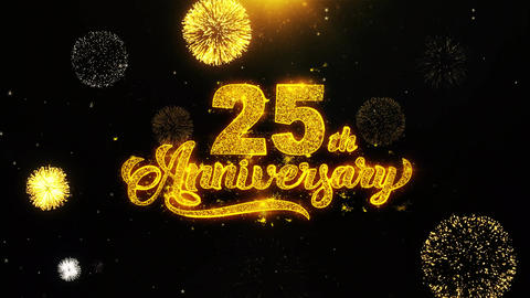 25th Happy Anniversary Wishes Greetings card, Invitation,…, Live Action