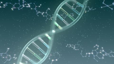 DNA Strand Genome image 6 DoF A2a 4k Animation