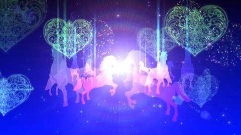 Light merry-go-round Animation
