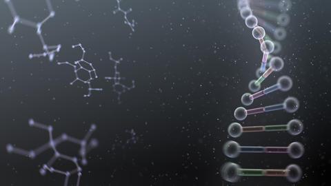 DNA Strand Genome image 6 DoF B4a 4k Animation