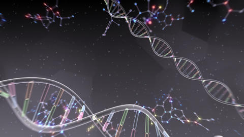 DNA Strand Genome image 6 A56b 4k Animation