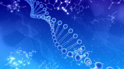 DNA Strand Genome image 6 B4b 4k Animation