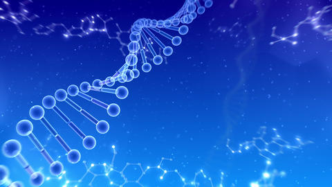 DNA Strand Genome image 6 B4c 4k Animation