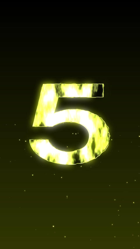 Countdown Stock Video Footage