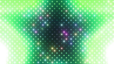 LED Wall 2 Star B Cr HD Stock Video Footage