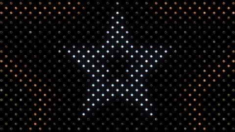 LED Wall 2 Star B Dc HD Stock Video Footage