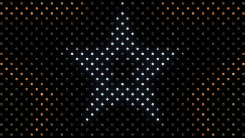 LED Wall 2 Star B Dc HD Stock Video Footage