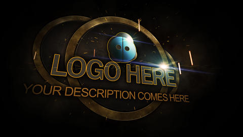 logo shield After Effects Template
