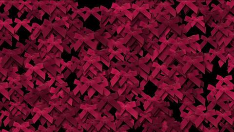red bow-knot background,chrismas & holiday decoration Animation