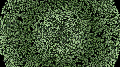 expand circle include many gradual change triangles,pulse... Stock Video Footage