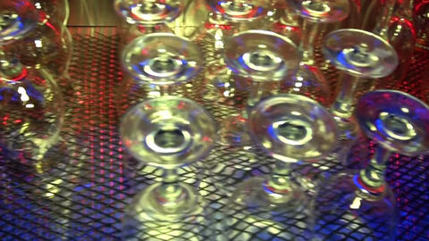 bar glasses Footage