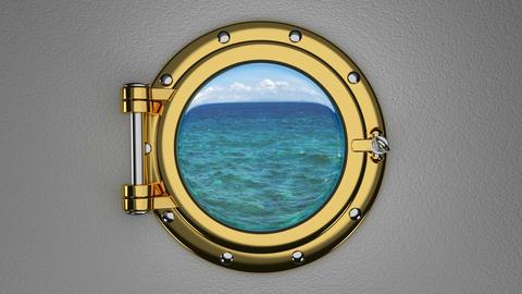 Porthole 3D animation Animation