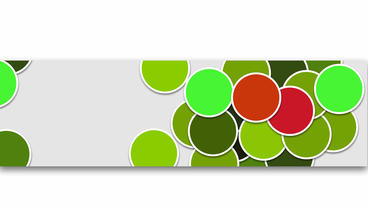 Colorful bubbles,popup animation design element for intro and titling After Effectsテンプレート