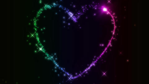 heart CG wedding Animation