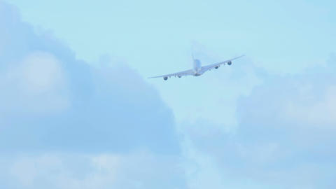 Airbus 380 take-off Footage
