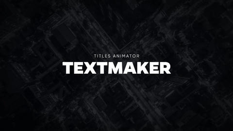 Titles Animator - Bold Glitch Apple Motion Template