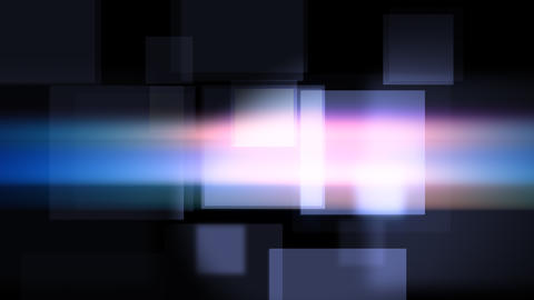 Dark background with glittering violet squares Animation