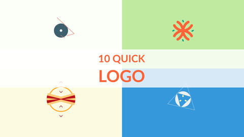 10 Quick Logo After Effects Template
